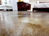 pardoseli microtopping & acid stain ferngreen